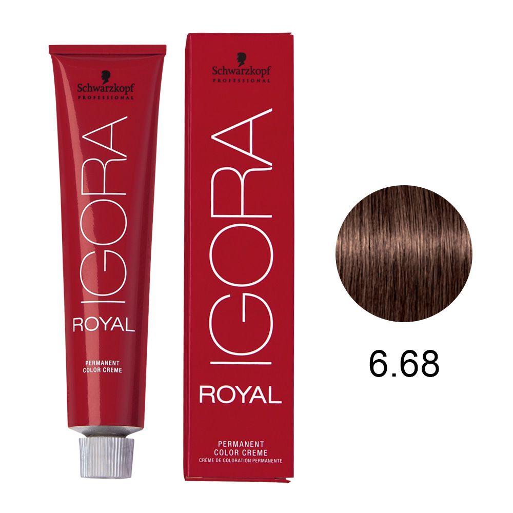 Schwarzkopf Igora Royal Coloração Permanente 6.68 60g