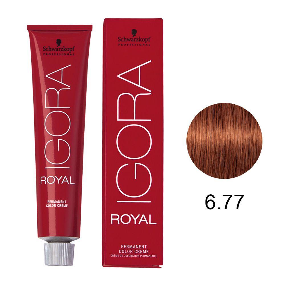 Schwarzkopf Igora Royal Coloração Permanente 6.77 60g