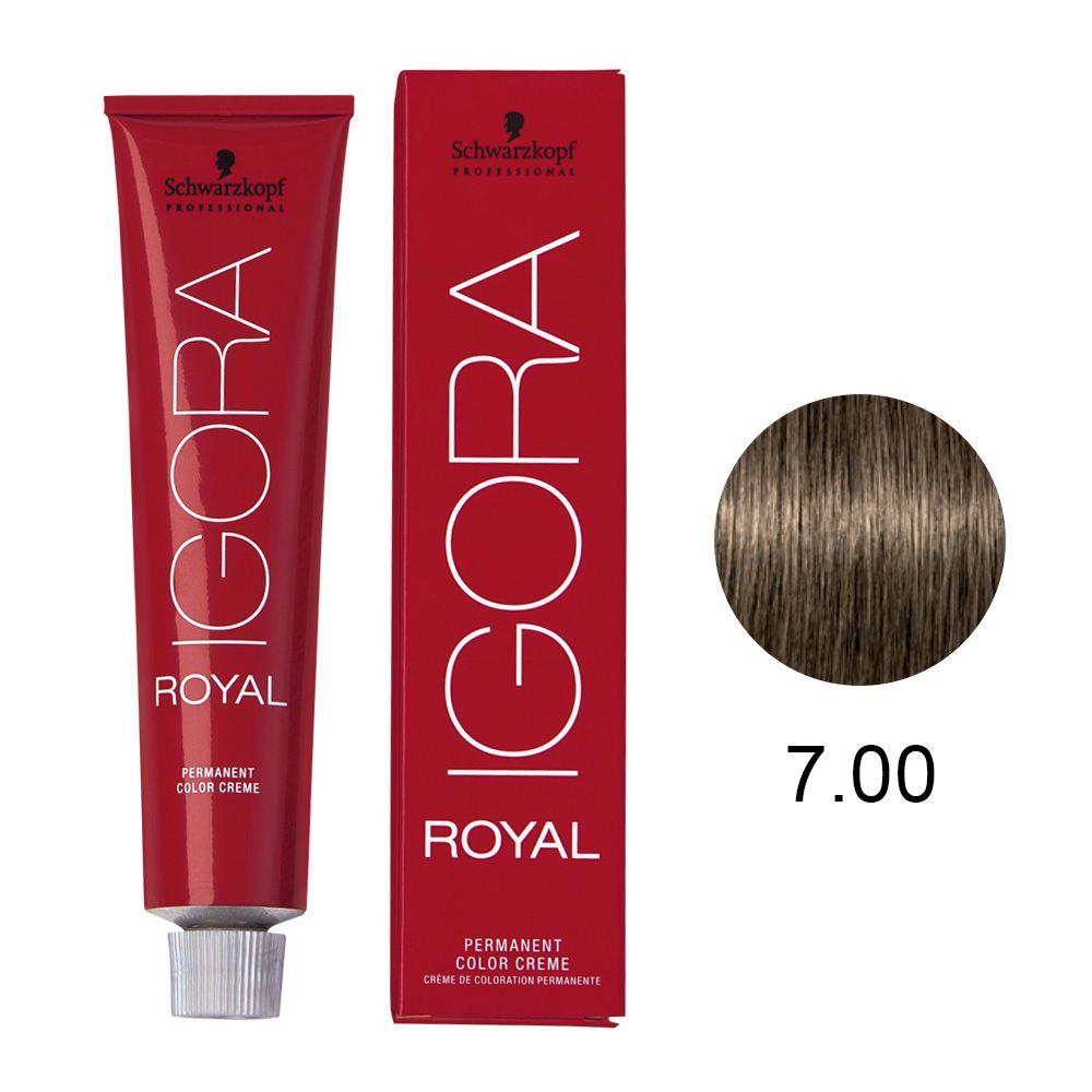 Schwarzkopf Igora Royal Coloração Permanente 7.00 60g