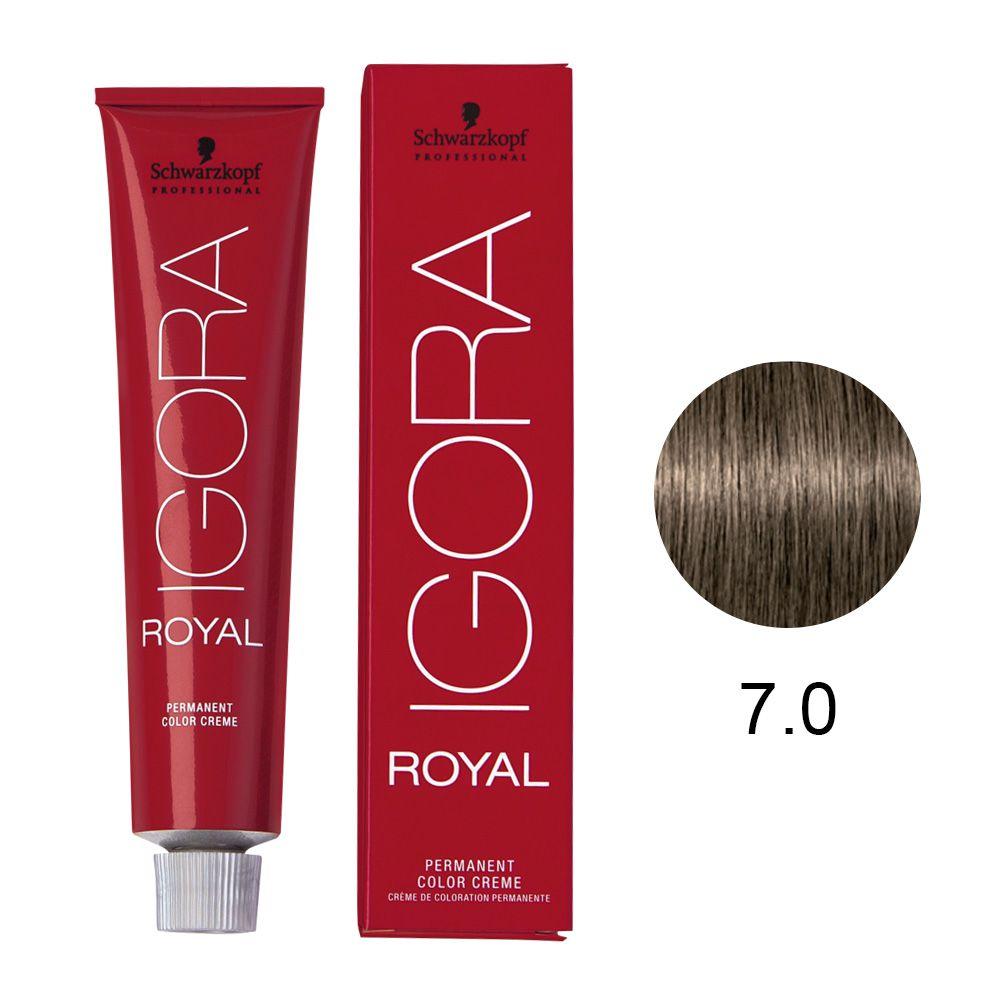 Schwarzkopf Igora Royal Coloração Permanente 7.0 60g