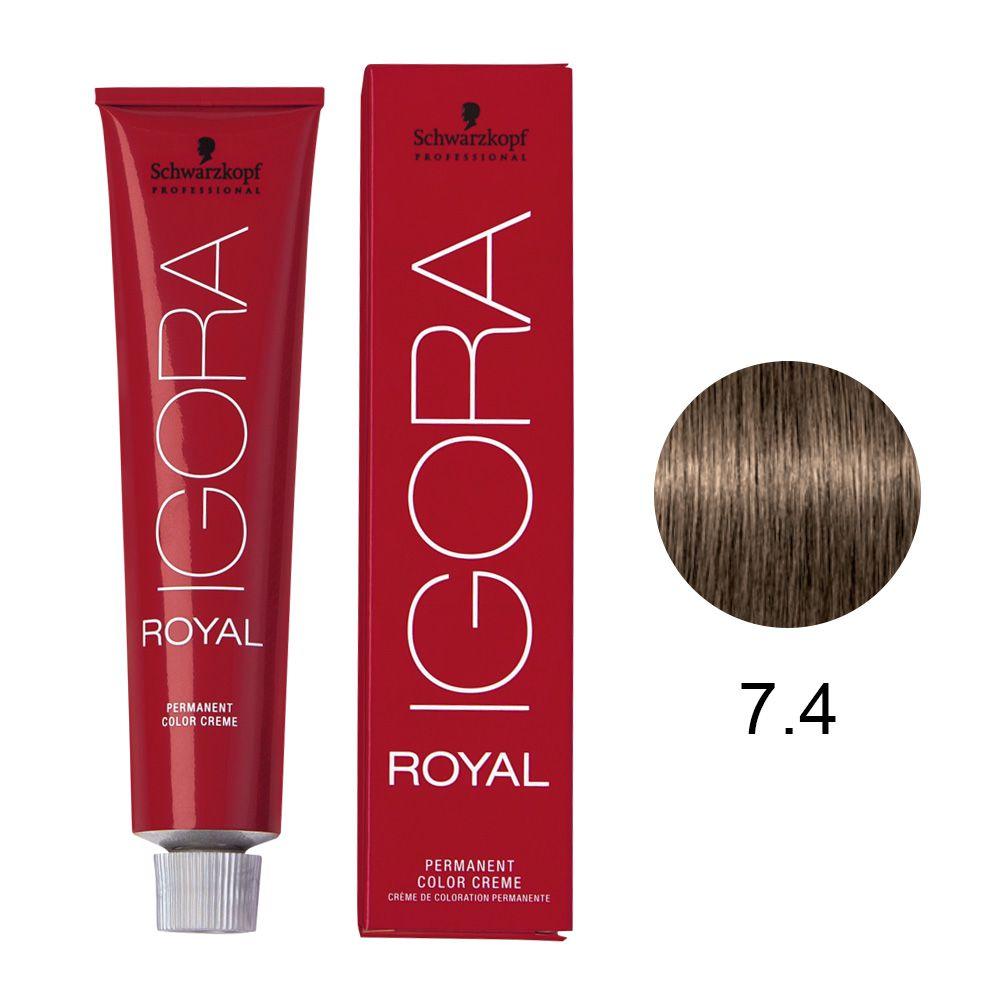 Schwarzkopf Igora Royal Coloração Permanente 7.4 60g