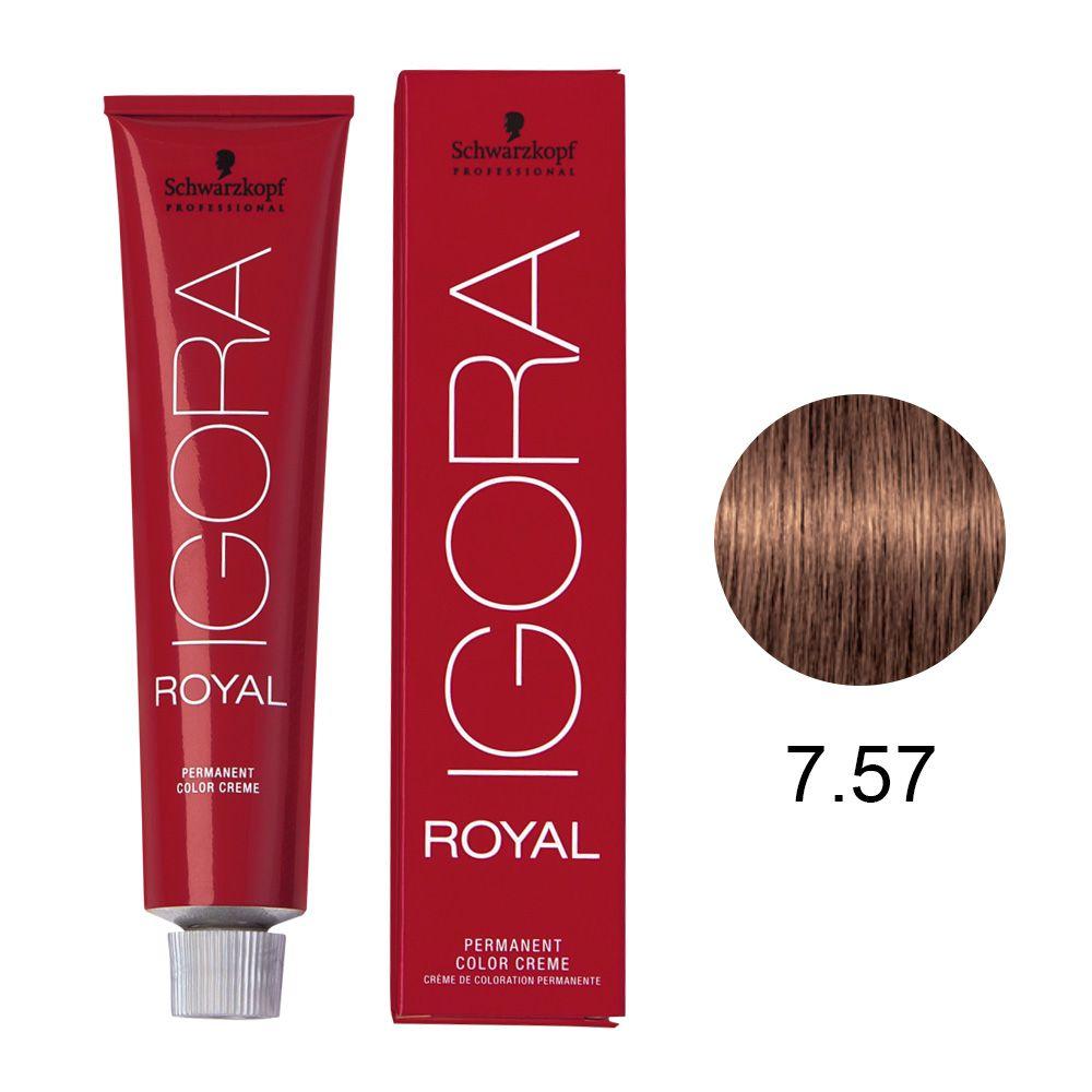 Schwarzkopf Igora Royal Coloração Permanente 7.57 60g