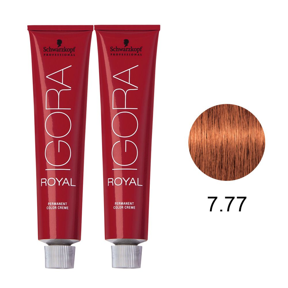 Schwarzkopf Igora Royal Coloração Permanente 7.77 60g