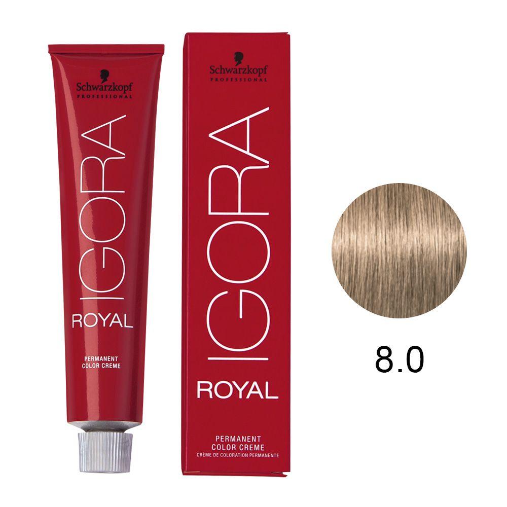 Schwarzkopf Igora Royal Coloração Permanente 8.0 60g