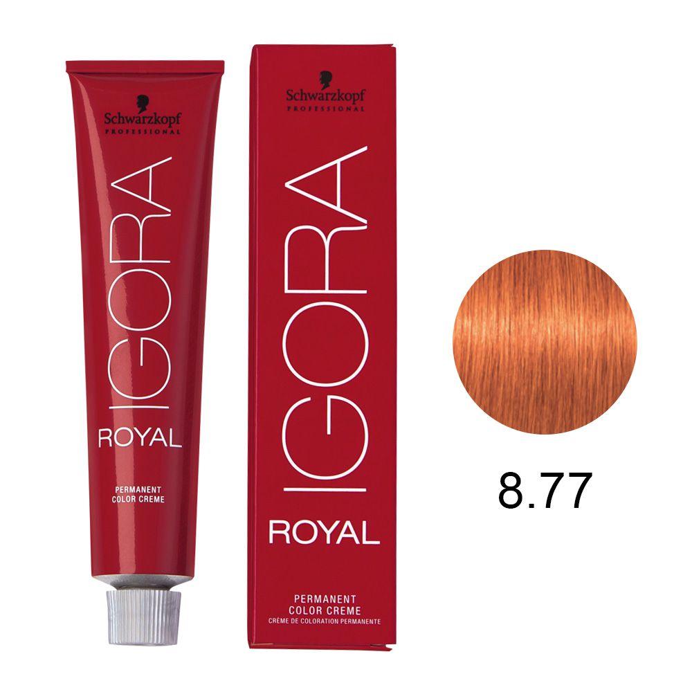 Schwarzkopf Igora Royal Coloração Permanente 8.77 60g