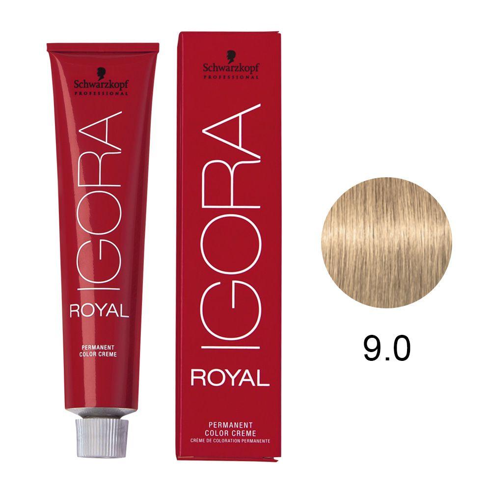 Schwarzkopf Igora Royal Coloração Permanente 9.0 60g