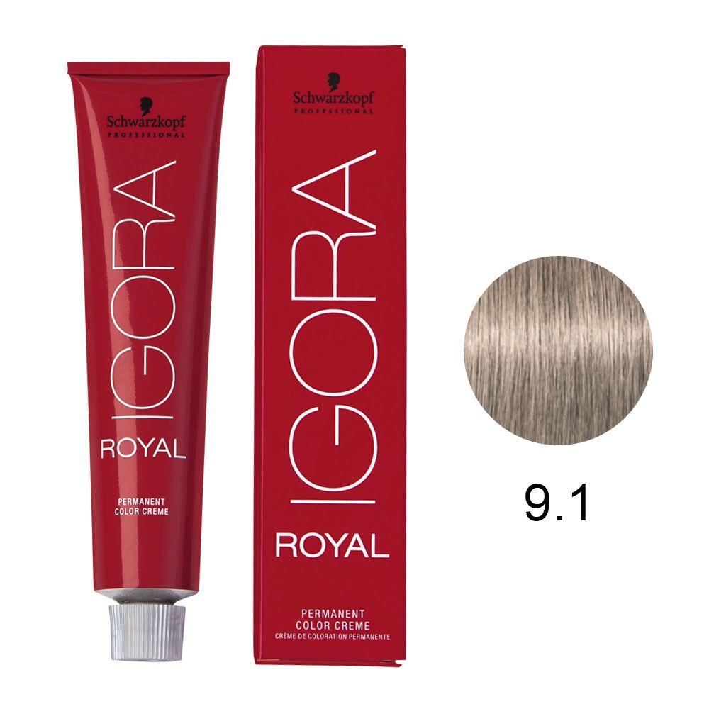 Schwarzkopf Igora Royal Coloração Permanente 9.1 60g