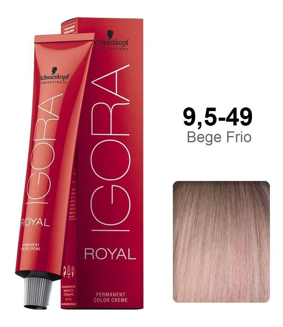 Schwarzkopf Igora Royal Coloração Permanente 9.549 60g