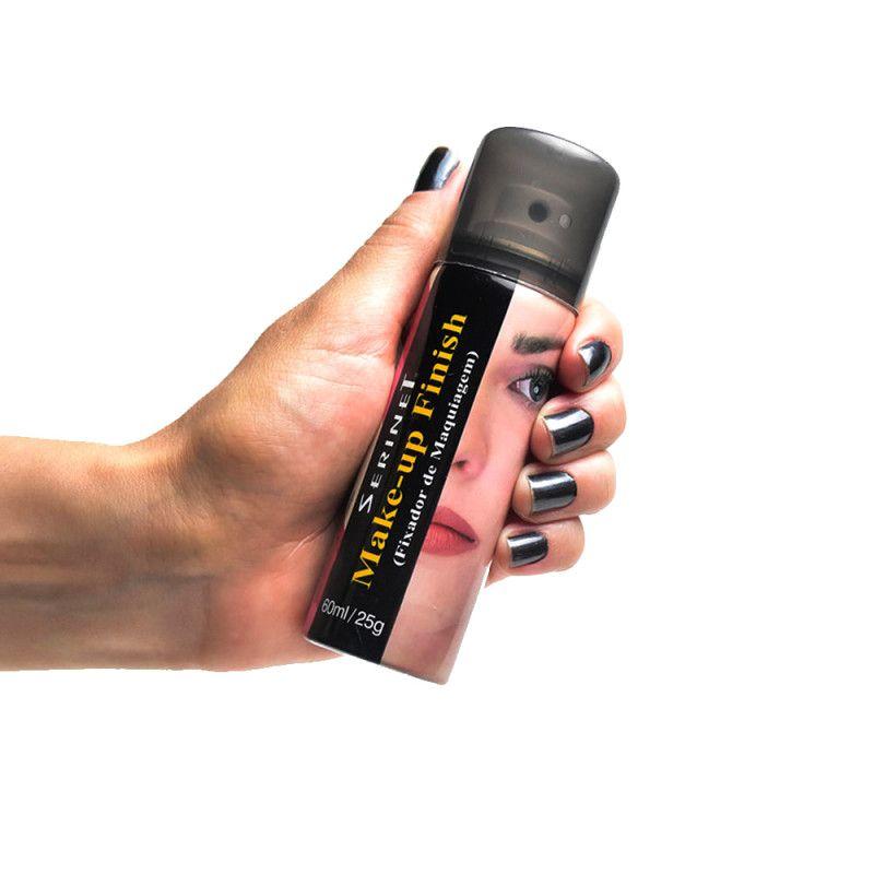 Serinet Fixador de Maquiagem Make-up Finish  60mL