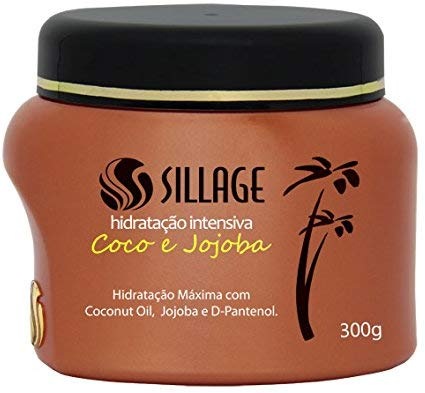 Sillage Máscara Capilar Coco e Jojoba 300g