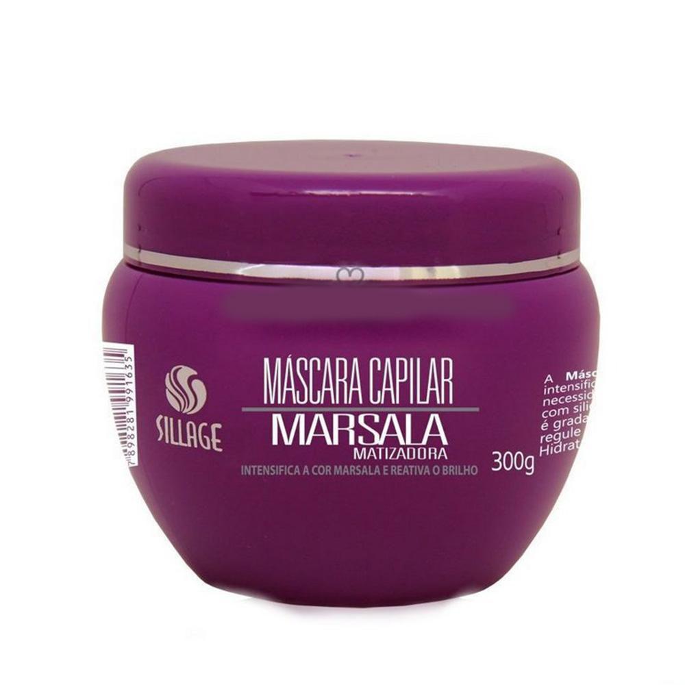 Sillage Máscara Matizadora Marsala 300g