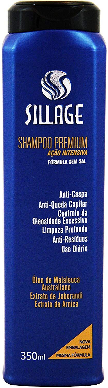 Sillage Shampoo Premium Anti-caspa e Anti-queda 350mL