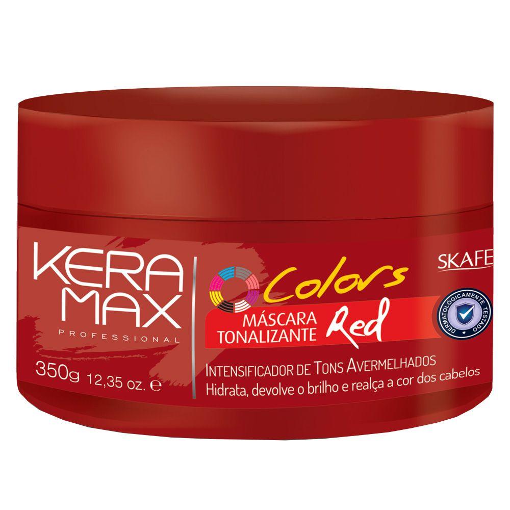Skafe Máscara Keramax Tonalizante Red 350g
