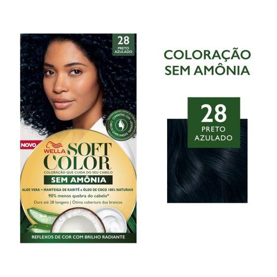 Soft Color Tonalizante 28 Preto Azulado