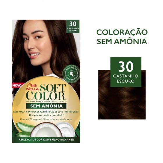 Soft Color Tonalizante 30 Castanho Escuro