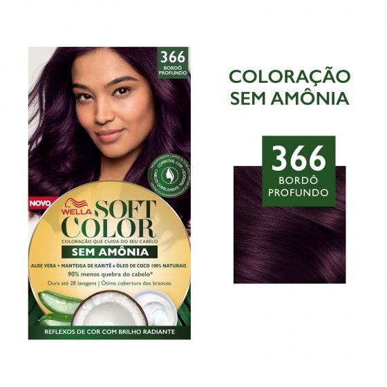 Soft Color Tonalizante 366 Bordô Profundo