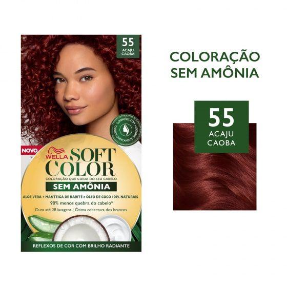 Soft Color Tonalizante 55 Acaju Caoba
