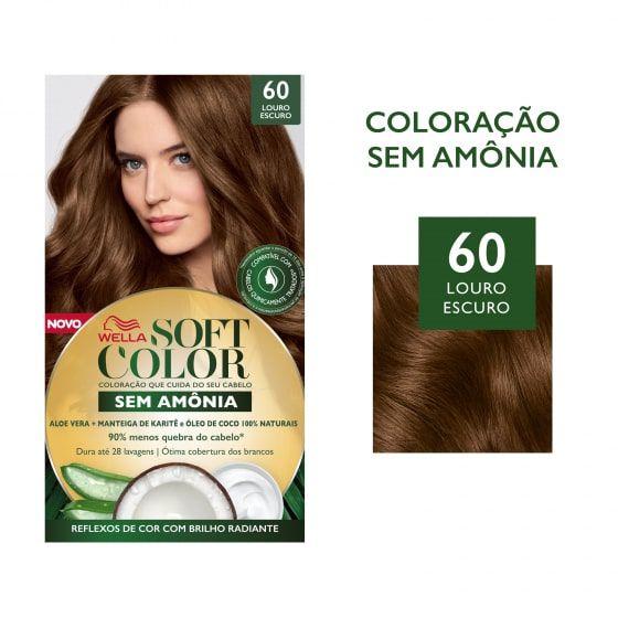 Soft Color Tonalizante 60 Louro Escuro