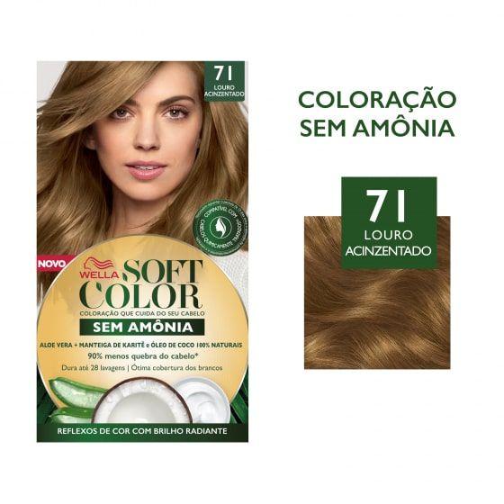 Soft Color Tonalizante 71 Louro Acinzentado