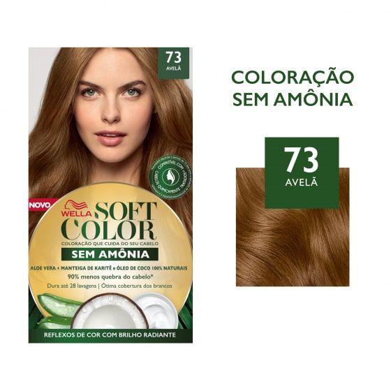 Soft Color Tonalizante 73 Avelã