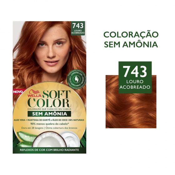 Soft Color Tonalizante 743 Louro Acobreado
