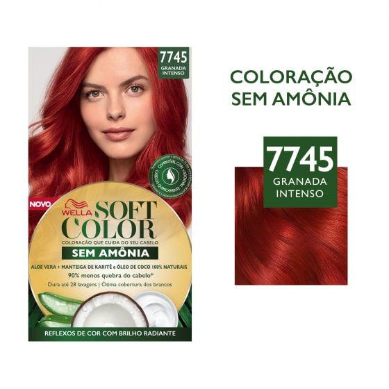 Soft Color Tonalizante 7745 Granada Intenso