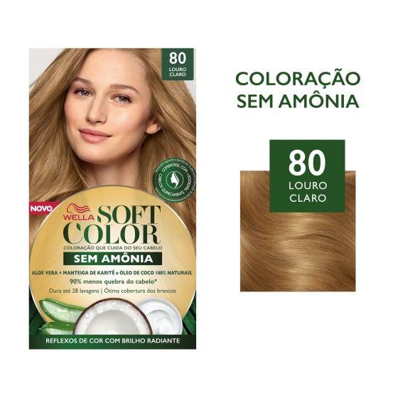 Soft Color Tonalizante 80 Louro Claro