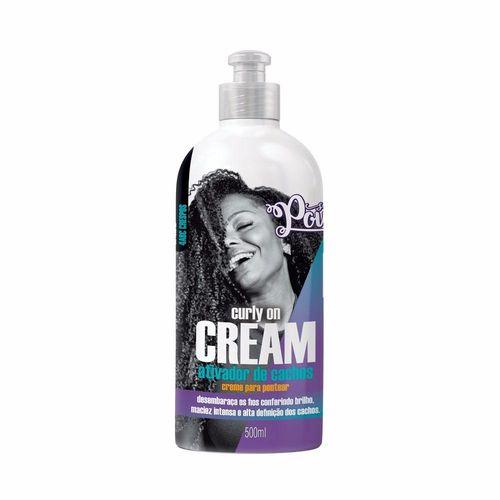 Soul Power Finalizador Curly On Cream Ativador de Cachos 500mL