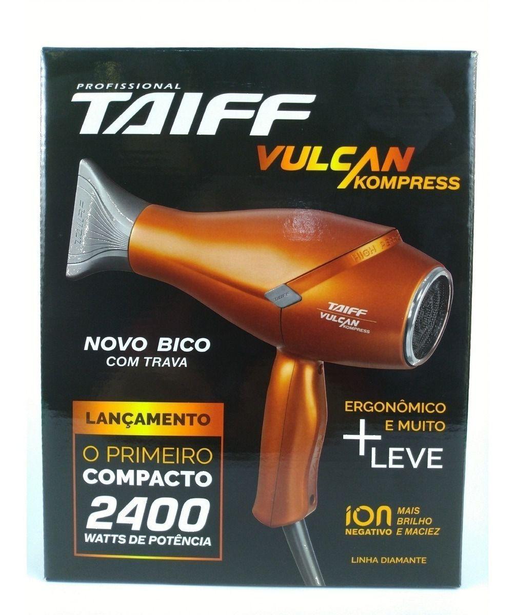 Taiff Secador Vulcan Kompress 2400W 110V