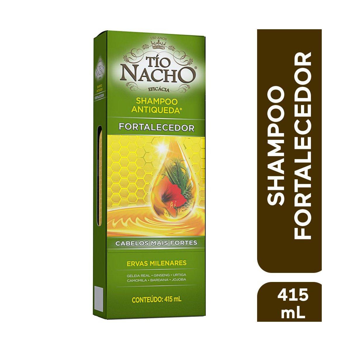 Tio Nacho Shampoo Antiqueda Ervas Milenares 415mL
