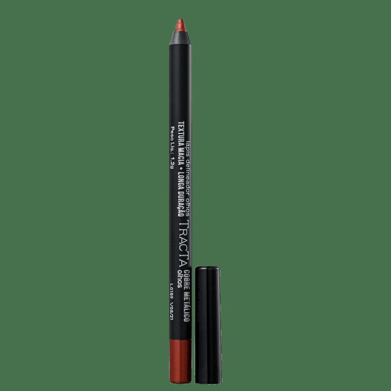 Tracta Lápis para Olhos Metálico Cobre 1,2g
