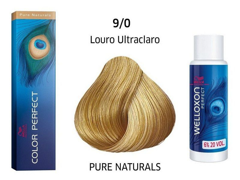 Wella Professional Coloração Permanente Color Perfect 9/0 Loiro Ultraclaro 60g