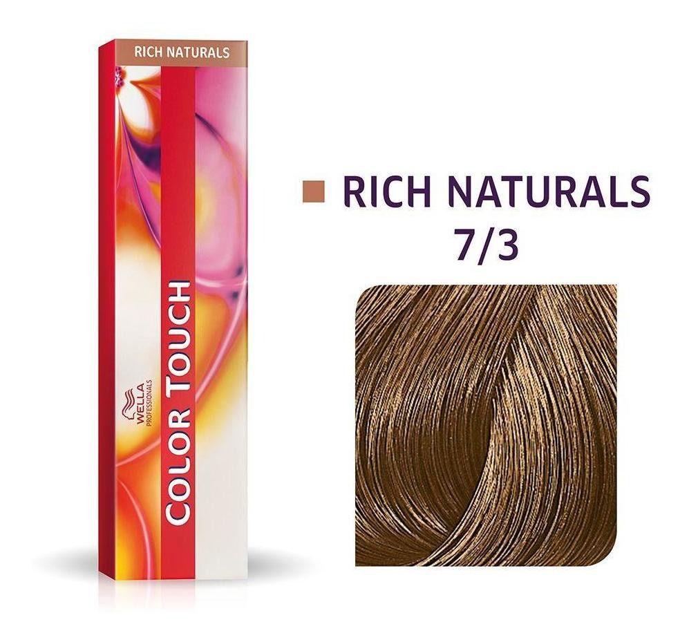 Wella Professional Tonalizante Color Touch 7/3 Loiro Médio Dourado 60g