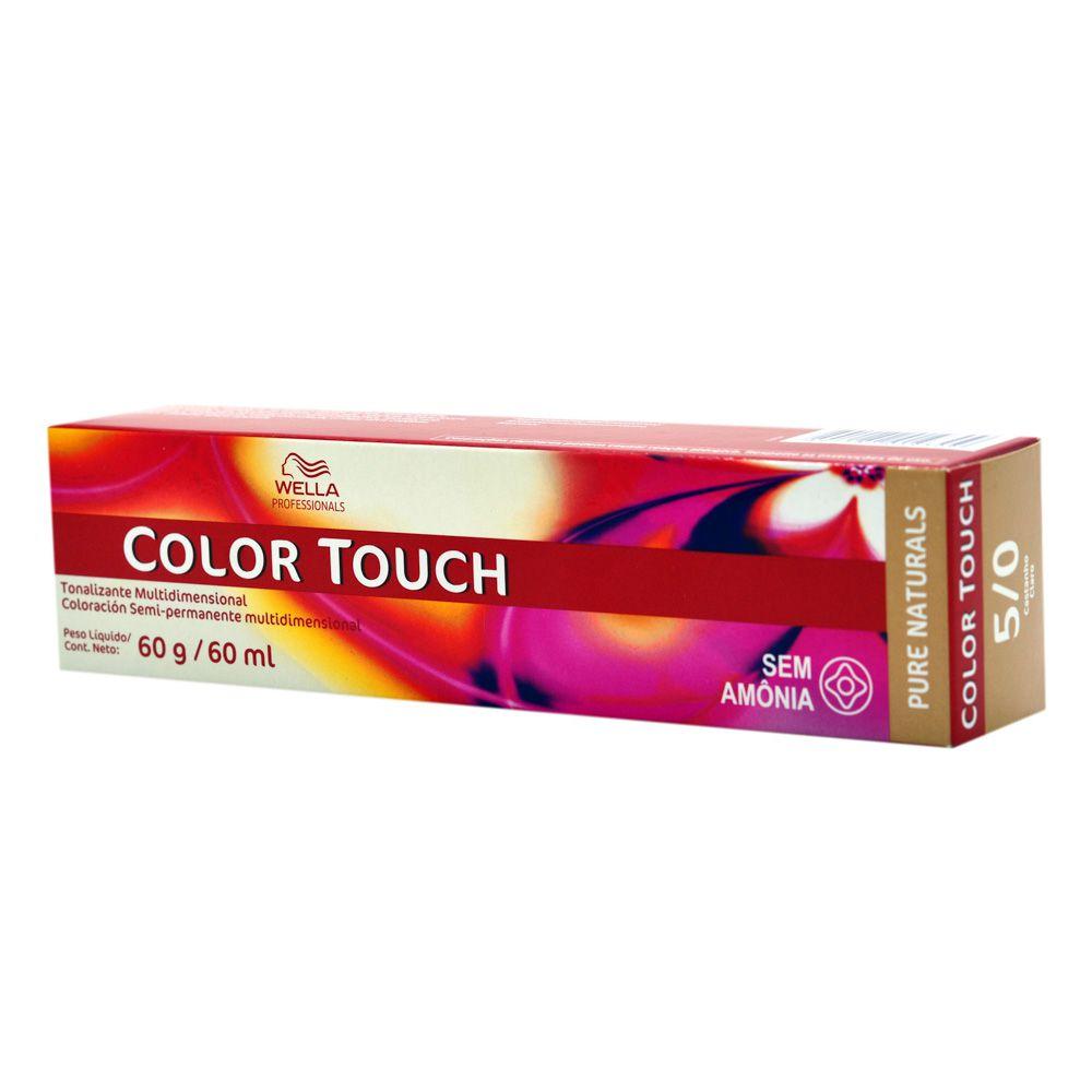 Wella Professional Tonalizante Color Touch 5/0 Castanho Claro 60g