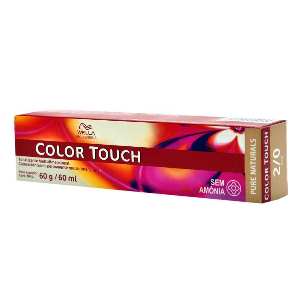 Wella Professional Tonalizante Color Touch 5/4 Castanho Claro Avermelhado 60g