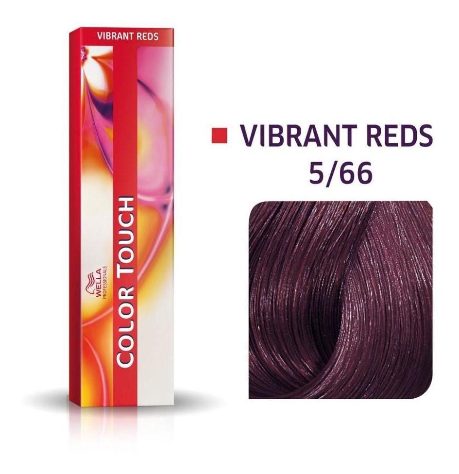 Wella Professional Tonalizante Color Touch 5/66 Castanho Claro Violeta Intenso 60g