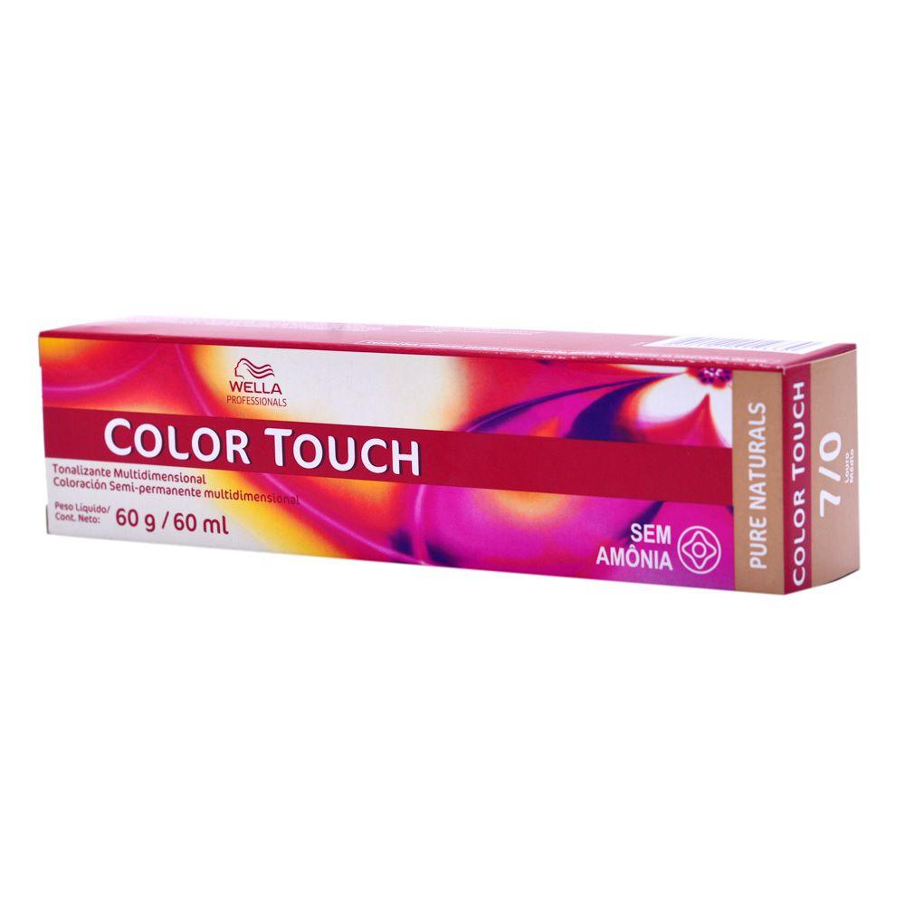 Wella Professional Tonalizante Color Touch 7/0 Loiro Médio 60g