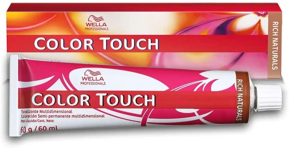 Wella Tonalizante Color Touch 6/77 Louro Claro Marrom 60g