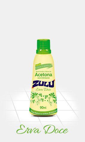 Zulu Removedor de Esmalte Erva Doce 90mL