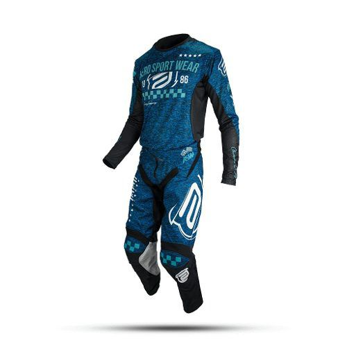 Kit Roupa Asw Podium Race Mescla 19
