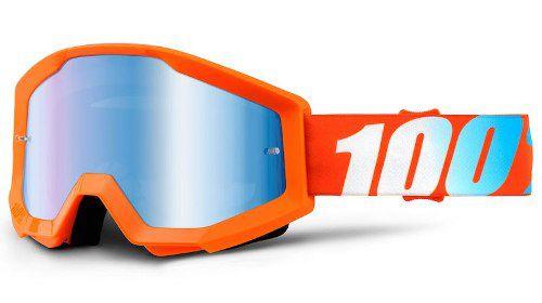 Óculos 100% Strata Orange Lente Espelhada