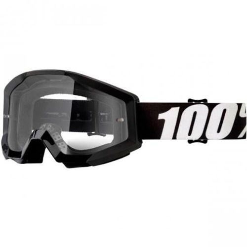 Óculos 100% Strata Outlaw Lente Transparente