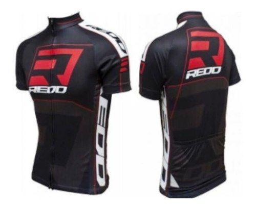 Camisa Redd Black Ciclista