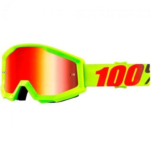 Óculos 100% Strata Mercury Lente Espelhada