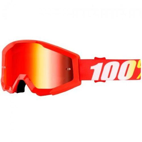 Óculos 100% Strata Furnace Lente Espelhada