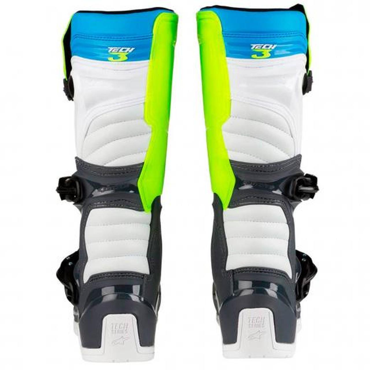 Bota Alpinestars Tech 3 - Azul/Amarelo