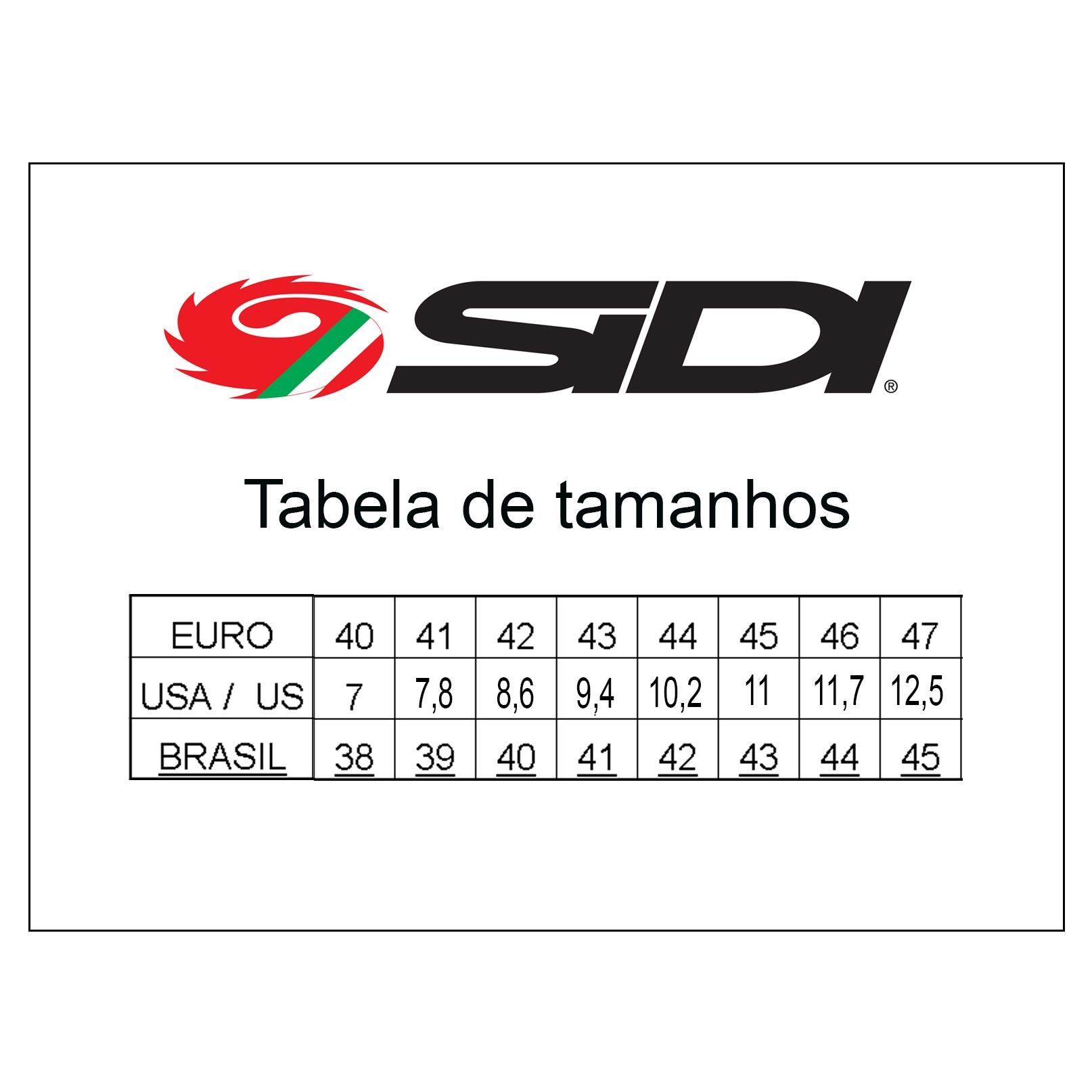 Bota Sidi CrossFire 3 SRS Vermelho/Preto