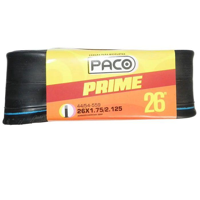 Câmara De Ar Paco Prime 26x1.75/2.125- Válvula 35 Mm