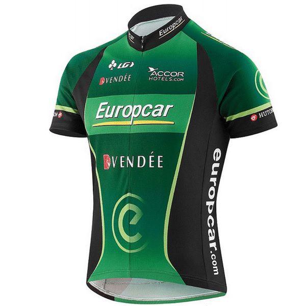 Camisa Bike Louis Garneau Equipe Pro Replica Europcar