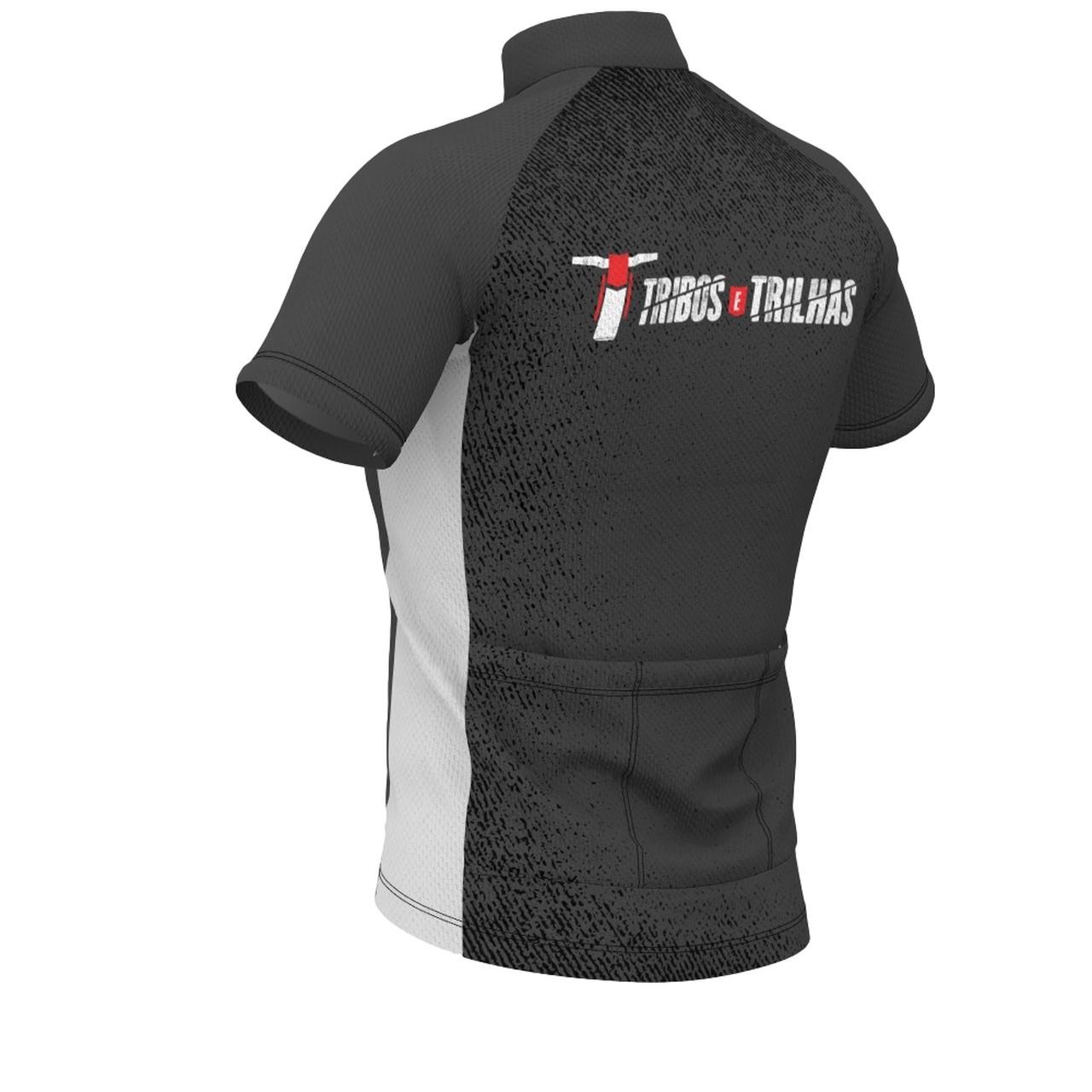 Camisa Bike Tribos e Trilhas Dry Tech Grey